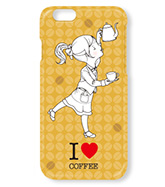 iPhoneケース(I LOVE COFFEE)